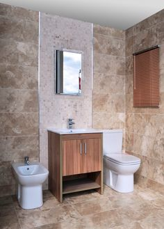 Wooden Finishes In The Bathroom Are Increasing In Popularity As Are Wood Effect Tiles