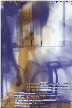 Bauhaus Dessau - Cyan, Berlin, 1996
