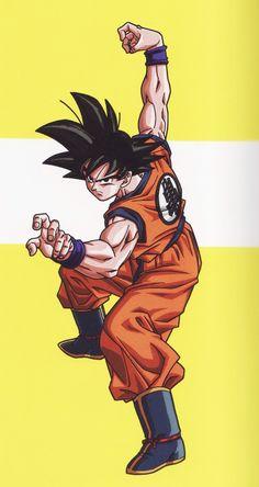 Dragon Ball Goku classic art