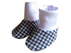 Baby Puschen Krabbelschuhe Socken Tippy Toes von me Kinderkleidung und ersatzbezuege auf DaWanda.com