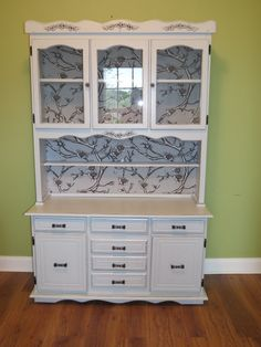 China hutch with amazing branches in the background Home Decor Furniture, Vintage Furniture, Painted Furniture, Furniture Redo, China Cabinets And Hutches, China Hutch Makeover, Furniture Inspiration, Design Files, My Dream Home