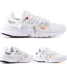 Nike Air Presto x Off-White Off White Shoes, Converse, Vans, Nike Presto, Hype Shoes, Shoe Game, Reebok, Air Max