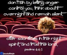 Psalm 4:4-5