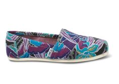 Tropical Canvas Women's Classics | TOMS.co.uk #toms