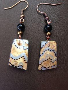 Gourd earrings