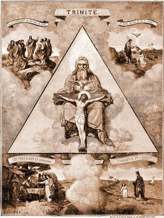 The Trinity is a doctrine not taught in the Bible but adopted by many in Christendom and originated as a part of pagan worship. Christendom simply picked up the idea to win over the pagans. They suddenly made Jehovah, Jesus and the Holy Spirit 3 persons in one godhead. (4th C. C.E., Council of Constantine).