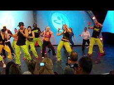 """BETO"" The founder of Zumba. Love the song. FIBO 2010 ZUMBA Pa´la discoteka a bailar Techno Cumbia. Thanks Beto for everything you have done for Zumba. God Bless."