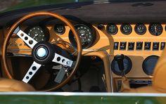 Maserati Ghibli SS Spider (1970-1973 Model) Dash