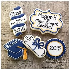 Here is a different way to do the tassels on grad cap cookies. The part that attaches the tassel to the cap is usually a twisted cord like ...