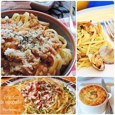 7 recetas de espaguetis ¡para chuparse los dedos!