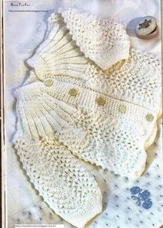 59 Super Ideas For Crochet Cardigan Free Pattern Sweets Baby Knitting Patterns, Crochet Baby Cardigan Free Pattern, Knitting For Kids, Crochet For Kids, Baby Patterns, Double Knitting, Crochet Patterns, Crochet Cardigan, Crochet Gratis