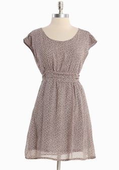 "Merveille Fields Chiffon Dress In Gray 35.99 at shopruche.com. This light gray chiffon dress is polished with a delicate floral print in lavender and an elasticized waistline with ties for definition. Fully lined.100% Polyester, Imported, 33"" length from top of shoulder"