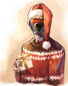 Me when my family says it isn't cristmas anymore Overwatch Story, Overwatch Comic, Overwatch Fan Art, Overwatch Drawings, Game Character, Character Design, Jack Morrison, Soldier 76, Best Hero