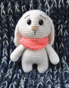 Adorable bunny amigurumi crochet pattern