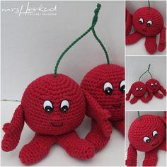 Vitamini Kim & Karim Kers (In Haken) Crochet Diy, Crochet Amigurumi, Crochet Food, Crochet Gifts, Crochet Dolls, Lidl, Crochet Diagram, Crochet Patterns, Diy Haken