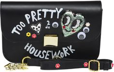 Paris House, Small Bebe, Too Pretty to do Housework, Black