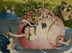 The Garden of Earthly Delights, detail, Hieronymus Bosch