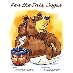 #BookReview of #PentheTaleOogie from #ReadersFavorite - https://readersfavorite.com/book-review/pen-the-tale-oogie  Reviewed by Kristen Van Kampen for Readers' Favorite  Pen the Tale, Oogie by Karen J. Moore is a fun children's book about a great big bear named Oogie, the greatest storyteller in the forest. One night, as Oogie was telling a story to the animals of the forest, he tasted the first chill of winter. Oogie knew that come winter time, he would hibernate and would be unable to tell