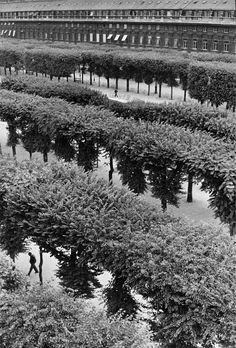 Henri Cartier Bresson, Palais Royal Paris, 1960