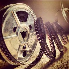 Old film reel (Taken with Instagram)