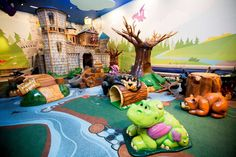 Frolic's Castle, the new 3,010 square-foot play area at Memorial City Mall Thursday, Oct. 9, 2014, in Houston. The new play area will open Saturday, Oct. 18. ( Johnny Hanson / Houston Chronicle ) Photo: Johnny Hanson, Staff / © 2014  Houston Chronicle