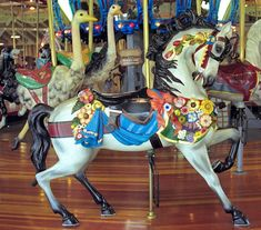 Richland Carrousel Park Carrousel Carousel Works Outside Row Stander