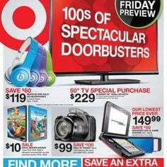 eab17bbca9ed Target Black Friday Ad 2013 Here we go! It's officially here… the Target Black  Friday Ad with hundreds of door busters. For the latest ads and sales, ...