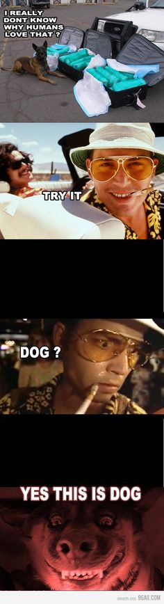 Fear and Loathing. Hats off to you Mr Depp