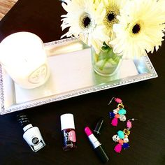 Sally Hansen, Benefit Cosmetics, Cookie Lee, Voluspa, and Mac Cosmetics from Pretti Please blog.