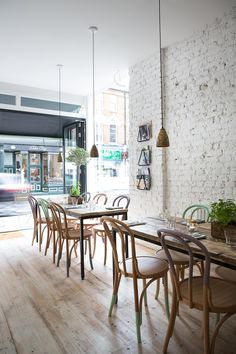 restaurant parsons green front interior