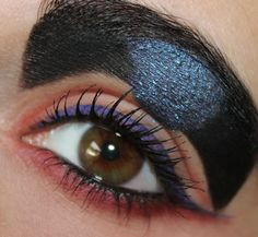 Queen Beryl inspired make up by http://www.talasia.de/2013/08/27/queen-beryl-inspired-make-up/