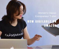 Entrepreneur store Women's Classic Entrepreneur T-Shirt Everyone Knows, Large White, Branded T Shirts, Fashion Brands, Entrepreneur, Classic T Shirts, Topshop, Amazon, Store