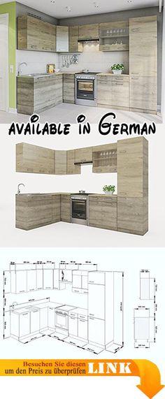 B01N0SONBL  moebel direkt online Dining-Gruppe \ - küchenblock 260 cm