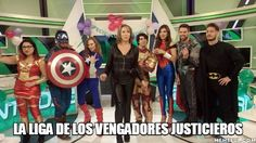 La Liga de los Vengadores Justicieros