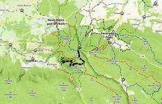 Góry Izerskie w Czechach. Szlaki na długi weekend   W DUECIE PO ŚWIECIE Czech Republic, Trekking, Map, Location Map, Maps, Bohemia, Hiking