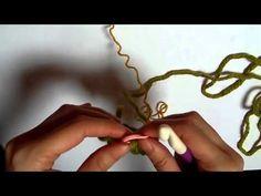 Aprende Knooking: Knooking en redondo - YouTube