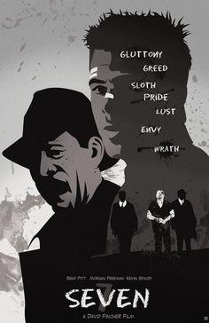 Se7en Poster by Zakosauris.deviantart.com on @deviantART