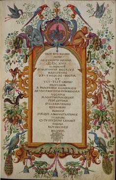 Basel, Universitätsbibliothek, AN II 4, p. 134r – Matriculation Register of the Rectorate of the University of Basel, Volume 2 (1586-1653) b...