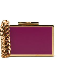Lanvin Colour Block Clutch