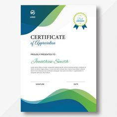 Elegant certificate of achievement with golden leaves psd template Certificate Layout, Certificate Border, Certificate Background, Certificate Of Achievement Template, Certificate Design Template, Award Template, Cover Template, Banner Template, Letterhead Template