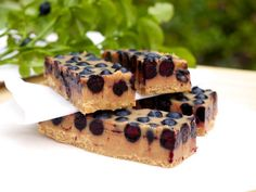 Lovely lucuma-blueberry fudge - must try!!!