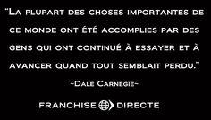 Citation de Dale Carnegie #motivation #citation