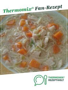 WW Schnelle Hühnersuppe von Mickie6245. Ein Thermomix ® Rezept aus der Kategorie Suppen auf www.rezeptwelt.de, der Thermomix ® Community.