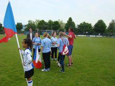 the opening ceremony of the Arnhem cup tournament. Arnhem, Holland 2015