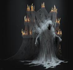 Monster Concept Art, Fantasy Monster, Monster Art, Rpg Map, Dark Souls Art, Lovecraftian Horror, Scary Art, Creepy, Cleric