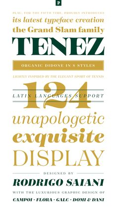 Tenez on Typography Served