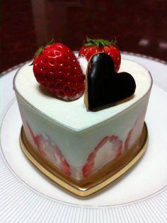 Pastelito de fresas