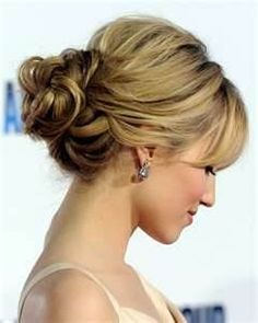 Updo hair  Maybe for Mother of the Bride .....