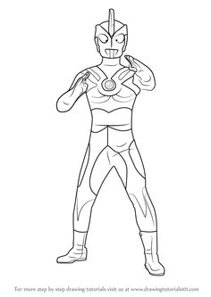 Learn How to Draw Ultraman Ace (Ultraman) Step by Step : Drawing Tutorials Learn Drawing, Learn To Draw, Step By Step Drawing, Drawing Tutorials, Kamen Rider, Cartoon Characters, Artworks, Coloring, Drawings