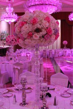 Il Villiagio NJ   pink and coral